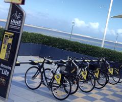Automatic bike hire