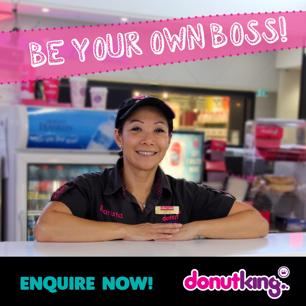 Be your own boss with an established Donut King Franchise! Armadale Central S/C