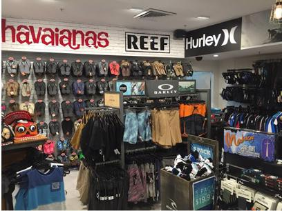 Surf Retail Shop Gold Coast