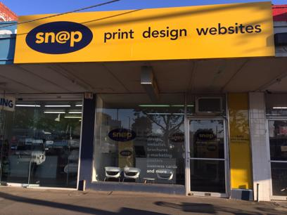 Online Website Design Printing Retail Service | SNAP Lilydale