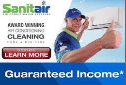 CLEAN AIRCONS & CLEAN UP-$11,995 inc Equip,Training, Support & GUARANTEED INCOME