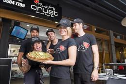 Join the Crust Pizza Family. Be your own boss delivering quality, fresh pizza.