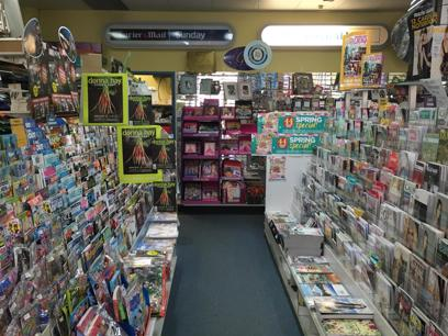 Newsagency in Noosa. DW
