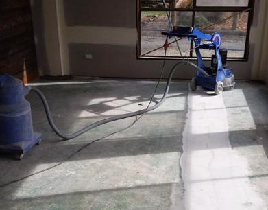Concrete cutting and concrete grinding business.