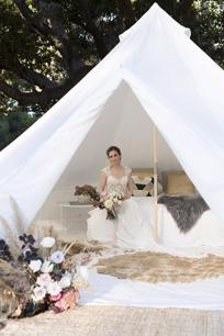 Glamping  Luxurious pop up hotel (PBG)