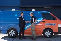 Swimart, Australia's pool & spa specialist. Mobile franchise, Melbourne