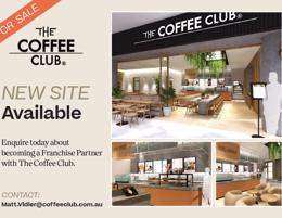 BRAND NEW COFFEE CLUB CAFE COMING SOON 'Perth Areas'