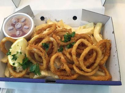 Fish and Chips with NO COMPETITION  Beach Front Position  6 days Only  Great Hou