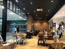 Franchised Cafe -66 seats located in busy corner entry
