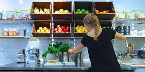 Franchised Juice Bar located in Sydney CBD