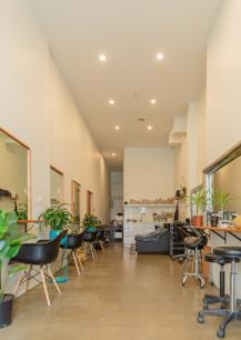 Highly successful Organic Hairdressing salon