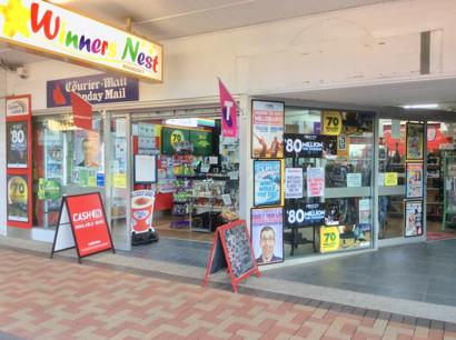 WINNERS NEST NEWSAGENCY -  Bundaberg,  CBD