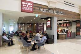 A Muffin Break Kiosk is available in The Pines Elanora, Gold Coast.