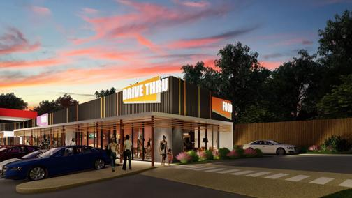 BRAND NEW RETAIL FOOD AND DRIVE THRU OPPORTUNITY FOR LEASE