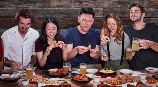 Is this Australia's happiest franchise? Gami Chicken & Beer. Everyone is Happy