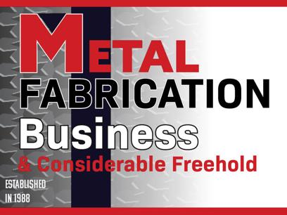 N8/107 Metal Fabrication Business and Considerable Freehold