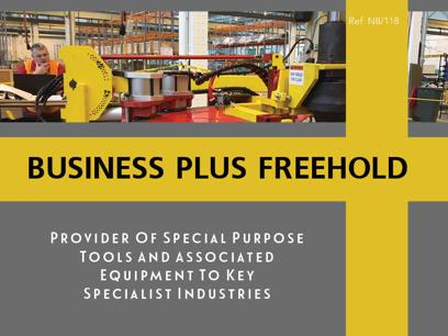Special Purpose Tools And Associated Equipment To Key Specialist Industries