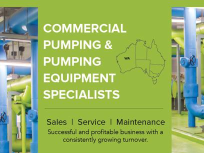 Commercial Pumping & Pumping Equipment Specialists N8/122