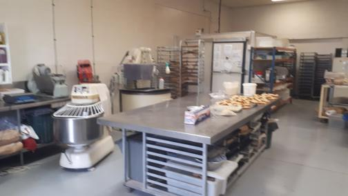 This is a STEEL! Wholesale Bakery with Industrial Cafe
