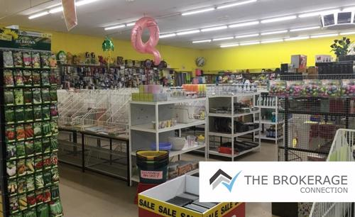 Bargain variety store discounted to sell