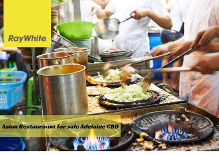 Profitable 5.5 days Nearly New Asian Restaurant for sale Adelaide CBD-Fire Sale