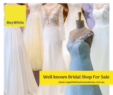 Profit wedding gown business for Sale Adelaide - Price Reduced