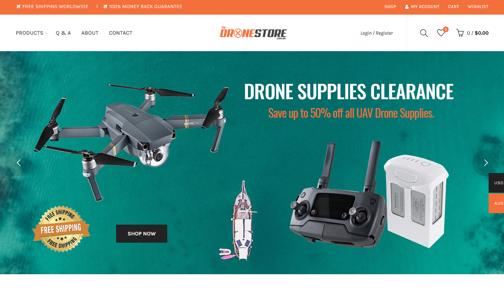 Drone Supplies Business Online