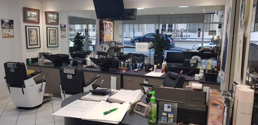 HAIR SALON BUSINESS FOR SALE - WITH STRATA SHOP + SECURED CAR PARK