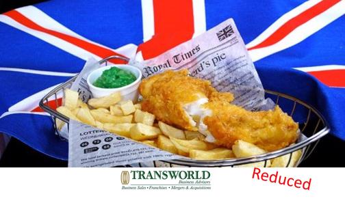 $100,000+ Projected Profit - Traditional British Fish and Chip Shop