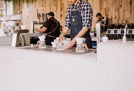 5-Day Trade Lobby Cafe in Sydney's CBD Fringe