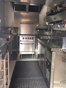 Food Trailer $55K AS NEW Versatille fit-out