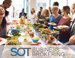 A diversified catering & cafe business with solid earning potential!