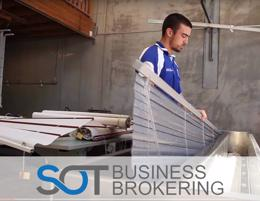 Well established commercial & residential blind cleaning and repair business