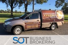 Cappuccino Xpress Coffee Vans - Queensland State Franchisor