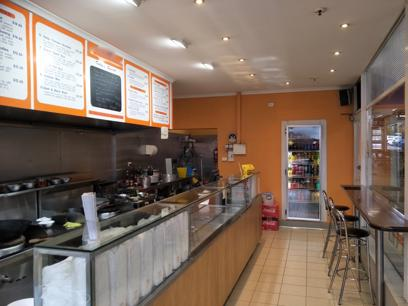 Asian Takeaway and Restaurant for Sale, Great location, Asian style kitchen