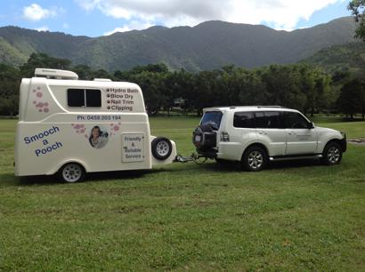 Mobile Dog Wash and Grooming Cairns - Luxury Air-Con Salon