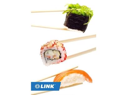 Sushi Takeaway Under Management in Brisbane CBD For Sale