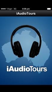 Audio Tour Guide Travel app - iAudioTours. Smartphone app.