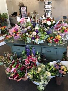 Florist. 5 days - no weekends! First time business offered for sale.