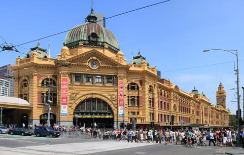 New Cafe - Iconic Flinders Street Station, Melbourne CBD, High Foot Traffic