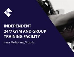 24/7 GYM & GROUP TRAINING FACILITY (INNER MELBOURNE) BFB0620