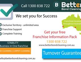 Australia's Leading Bond Cleaning Organisation - New Areas For Sale