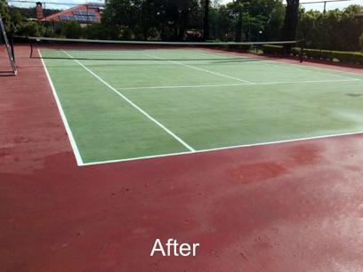 Sportzing Tennis Court Cleaning & Maintenance Franchise For Sale
