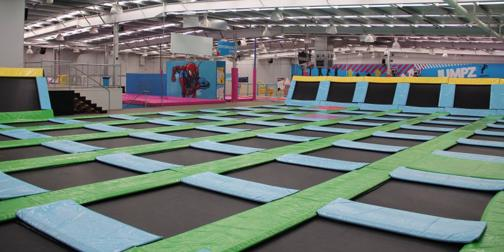 Hugely Popular Trampoline Park! World Class Equipment and Very Profitable!