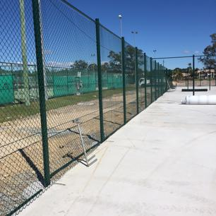 Manufacturing & Installation - Tennis Courts & Fencing