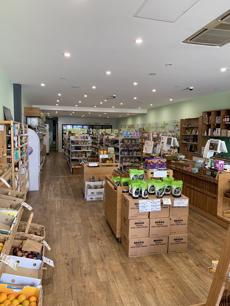 Healthy organic store for sale