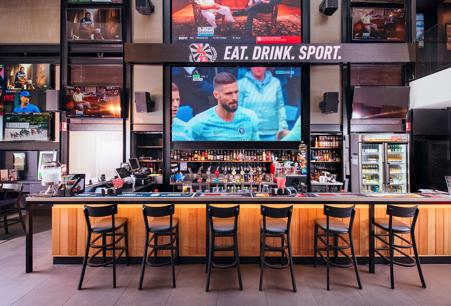 Sports Bar & Grill - Award winning franchise opportunity!