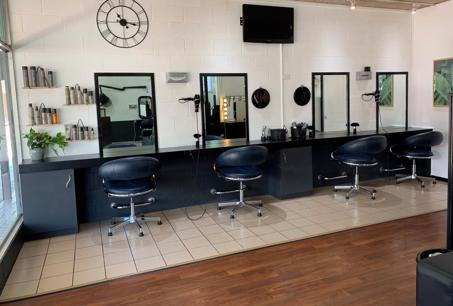 Hair and Beauty salon fixtures and fit out- long lease available.