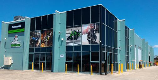 High Profile Kawasaki Motorcycle Dealership Multi-Franchise Caboolture QLD