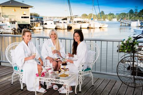 Luxury waterfront Day Spa